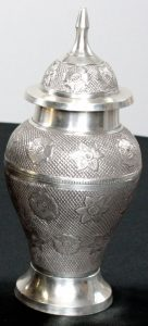 Brass Ginger Jar Urn