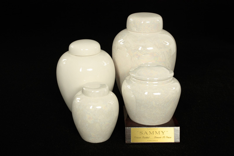 Ceramic Ginger Jar Urns
