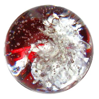 Red Glass Pendant Colour
